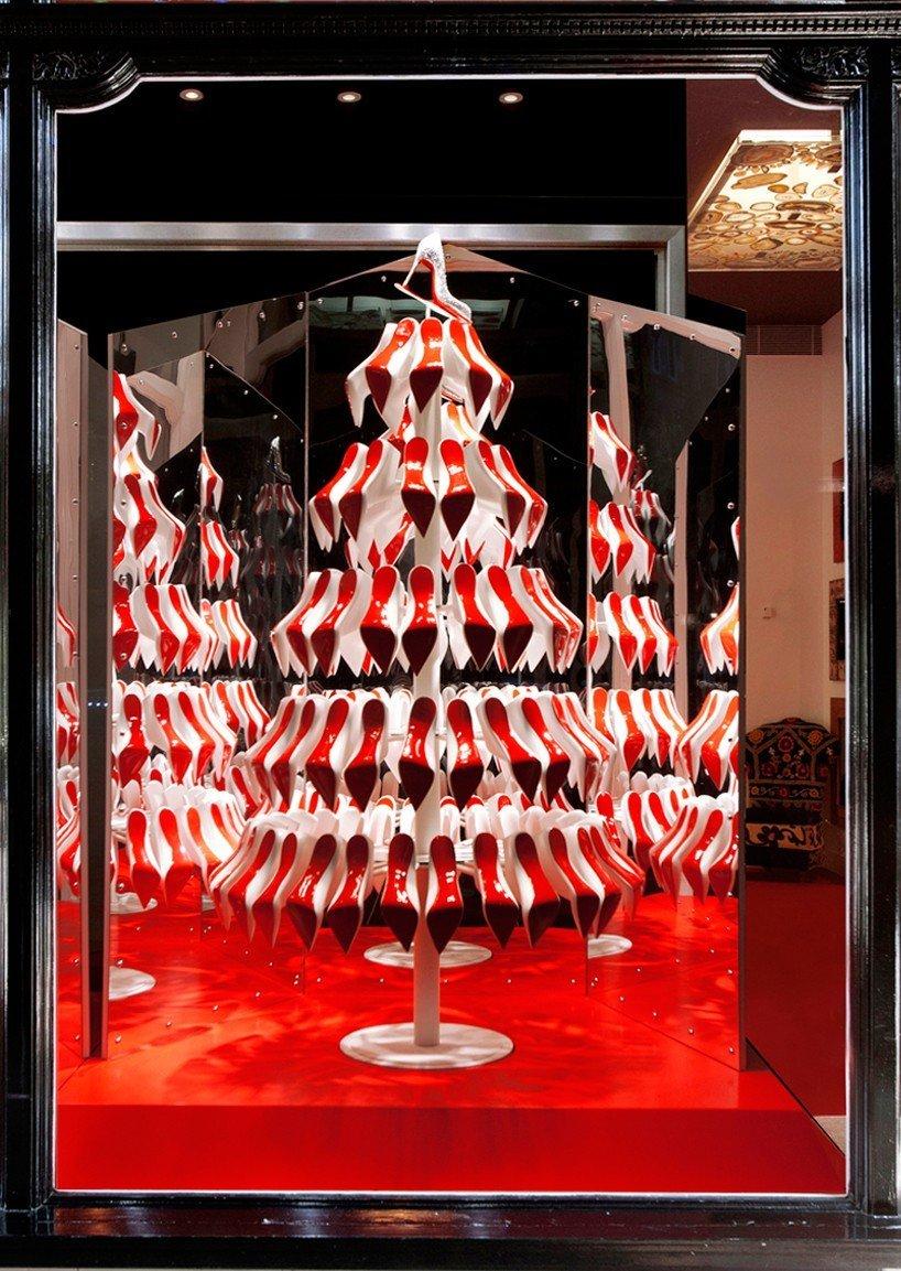 Christian Louboutin Christmas trees